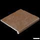 Клинкер Exagres Stone PELDANO FIOR. ML. BROWN ступени