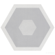 Керамогранит Geotiles Starkhex STARKDEC GRIS