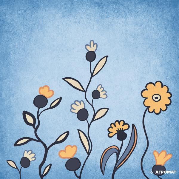 Плитка Almera Ceramica Prima Maria DEC BLUE 7