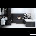 Плитка Opoczno Pret-a-Porter BLACK FLOWER COMPOSITION декор3