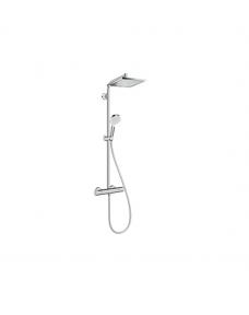 Душевая система Hansgrohe Crometta 27271000 E 240 1jet Showerpipe с термостатом