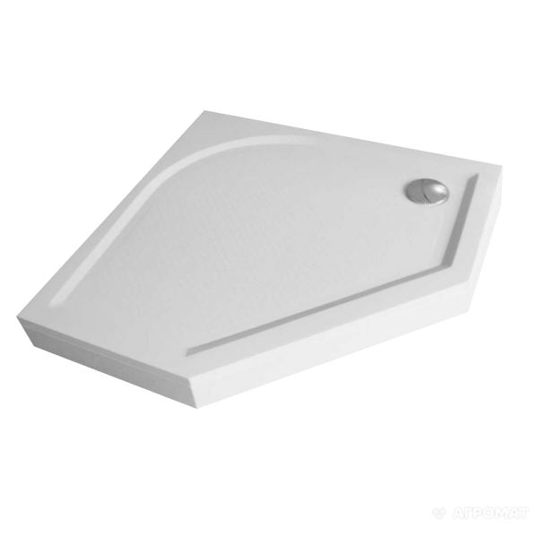 Поддон Devit Universal FTR4210 душевой 100х100 (пятиугольный), с ножками, панелью, сифоном