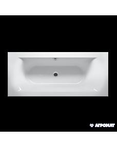 Акриловая ванна Devit Lusso New 17075135R Ванна 170х75 + ножки set01u, тонкий борт, правая