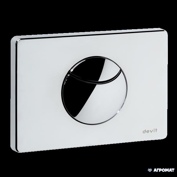 Кнопка для смыва Devit 80.210 кнопка смыва д/инсталяции 90.210