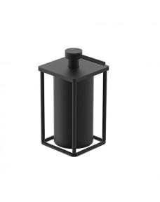 Дозатор для жидкого мыла DEVIT UP 7030120B отдельностоящий, черный матовый