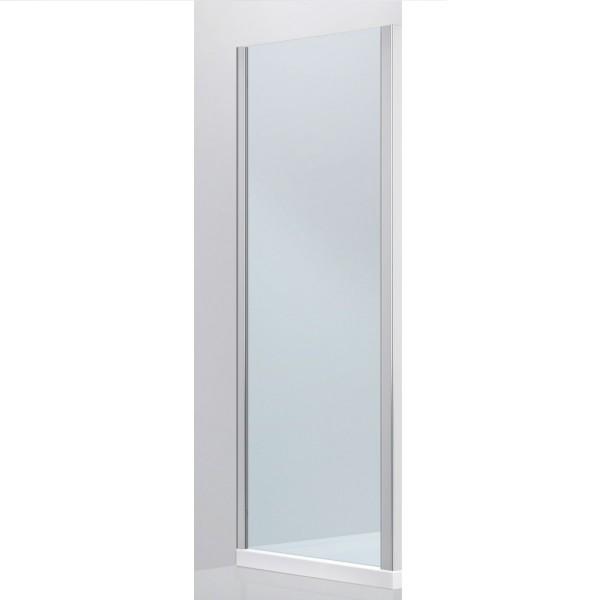 Панель боковая Devit Fresh, универсальная, 80x190 хром/прозрачное стекло FEN8280
