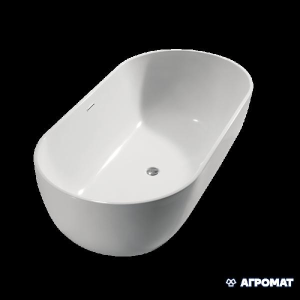 Акриловая ванна Devit Ovale 18090136 Ванна отдельностоящая 1780*900*550