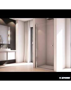 Душевая дверь San Swiss Solino SOL108005007 Душевые дверки, хром/прозрачное стекло