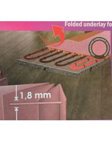 Подложка Зеленый Лист Solid Теплый пол 1.8 мм