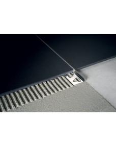 Профиль для плитки Kerajolly Алюминий Серебро 2700х10 TR.100.AS