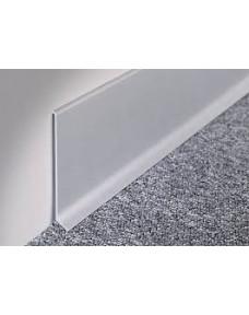 Профиль для плитки Battiscopa плинтусний алюминий 2700х80 BA.800.ASN.270