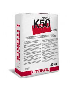 Цементный клей Litokol POWERFLEX K50 (K50G0020) Белый