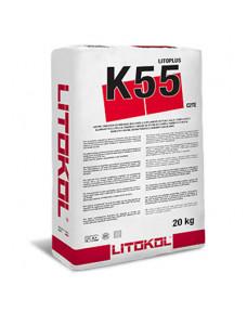 Клей цементний Litokol Litoplus K55 20 кг (K550020), Білий