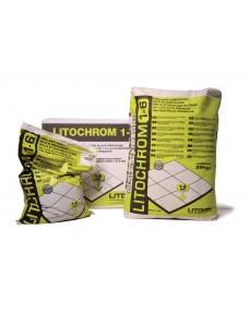 Затирка Litokol Litochrom 1-6 цементна, 5 кг (16ANT0055), C.40 Антрацит