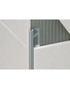 Профиль для плитки Squarejolly Алюминий Серебро 2700х10 SJ.100.AS