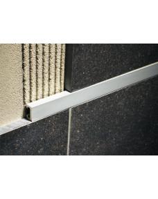Профиль для плитки Listello алюминий песочн. Хром 2700х15х8 LI.15.ASXB
