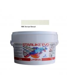 Затирочная смесь Litokol Starlike EVO STEVOBSS0001 100 Экстра Белый 1 кг