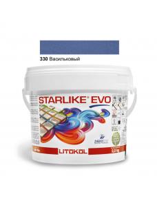 Затирочная смесь Litokol Starlike EVO STEVOBAV02.5 330 Васильковый 2,5 кг