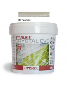 Затирочная смесь Litokol Starlike Crystal EVO CREVO0005 700 Кристалл 5 кг