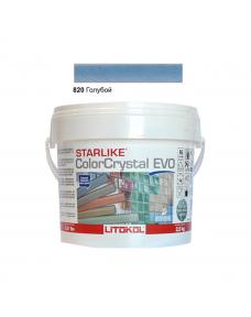 Затирочная смесь Litokol Starlike ColorCrystal EVO CCEVOATR02.5 820 Голубой 2,5 кг