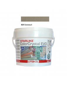 Затирочная смесь Litokol Starlike ColorCrystal EVO CCEVOBHV02.5 825 Бежевый 2,5 кг