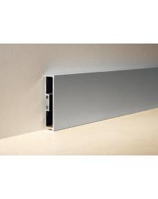 Профиль для плитки Battiscopa Алюминий Серебро Spazzolato 2700х40 BA.400.ASS