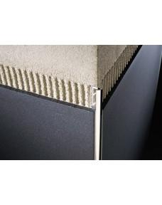 Профиль для плитки Roundjolly Алюминий Хром 2700х10 RJ.100.ASB