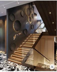 Лестницы со стеклянным ограждением