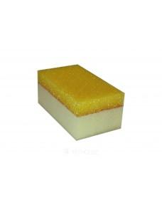 Губка Litokol Moserino двостороння для епоксидної затирки 160x90x70 мм (291CELRIG), Жовтий