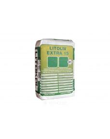 Самовирівнюючий склад Litokol Litoliv Extra швидкого схоплювання і висихання 20 кг (XTR150020), Сірий