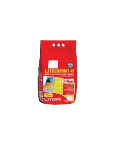 Затирка Litokol Litochrom 1-6 цементна, 5 кг (16GMD0055), C.700 Середньо-сірий
