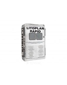 Штукатурка Litokol Litoplan Rapid цементна тиксотропна швидкого схоплювання, мішок 25 кг (LPLN0025 ), Сірий