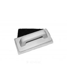 Шпатель Litokol Finish з двома повсті для прибирання цементних і епоксидних затерли (226), Чорно-білий