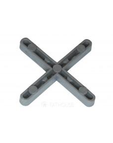 Хрестики для швів Litokol упаковка 1000 шт 4 мм (DST1000.4C), Сірий