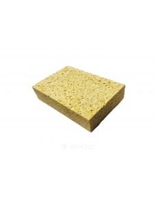 Губка Litokol з целюлози для прибирання епоксидних затерли 190x120x40 мм (291OVALE), Жовтий