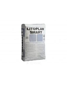 Штукатурка Litokol Litoplan Smart цементна тиксотропна швидкого схоплювання, мішок 20 кг (LPSM0020), Сірий
