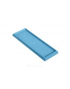 Змінна частина Litokol для шпателя, гума 245x95 мм (136GM02D), Блакитний