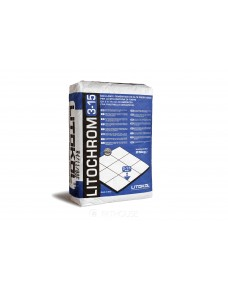 Затирка Litokol Litochrom 3-15 цементна, 25 кг (315ANT0025), C.40 Антрацит