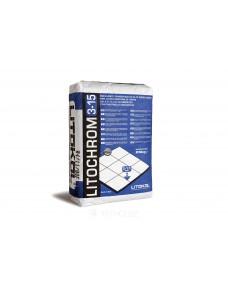 Затирка Litokol Litochrom 3-15 цементна, 25 кг (315GPR0025), C.30 Сірий перламутр