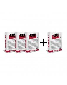Акция! Клей цементный Litokol LiToflex pro K80 20 кг (K80PRPOG0020), Серый (Комплект)