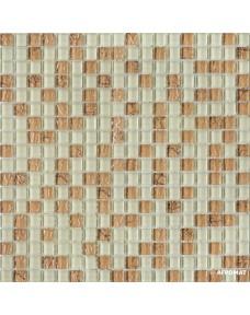 Мозаика Grand Kerama 583 микс топленое молоко-камень