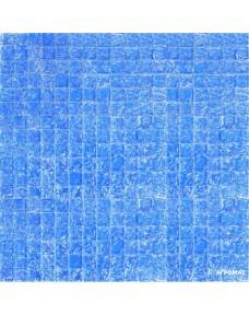 Мозаика Grand Kerama 446 моно голубой колотый