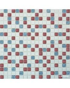 Мозаика Grand Kerama 581 микс розовый-белый-серый
