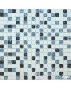 Мозаика Grand Kerama 579 микс черный-серый-белый