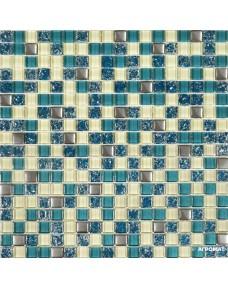 Мозаика Grand Kerama 2083 микс тифани-бирюза-охра