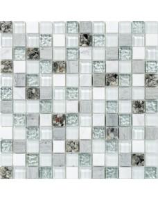Мозаика Mozaico de LUX S-MOS HS0343 ST+ GL GREY