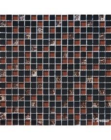 Мозаика Grand Kerama 2076 микс черный камень