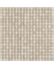 Мозаика Mozaico de Lux Stone T-MOS CREMA MARFIL POLISHED