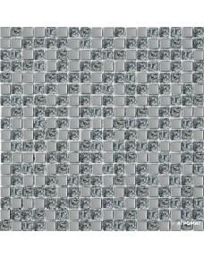 Мозаика Grand Kerama 1078 платина микс рифленая