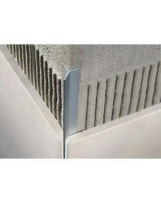 Профиль для плитки Filojolly Алюминий Серебро 2700х10 RJF.100.AS